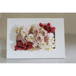 【通常便送料別】プリザーブドアレンジメント「マリー・アントワネット」|pualani-flowers