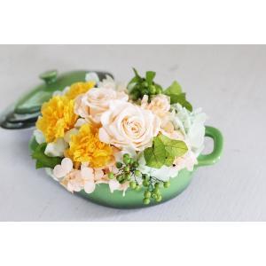 【来店受取限定】プリザーブドアレンジメント「ティンカーベル」 pualani-flowers