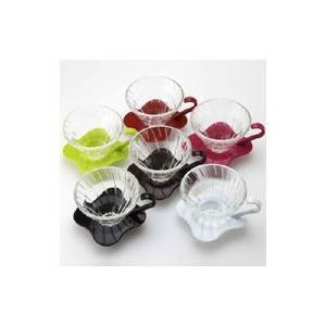 HARIO V60耐熱ガラスドリッパー(1〜4杯用) キッチン 調理器具・調理道具  puapu-online