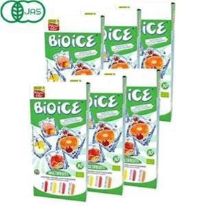 オーガニック ビオアイス 400ml(40mlx10本)×6箱 食品・飲み物 お惣菜 【代引不可】 puapu-online
