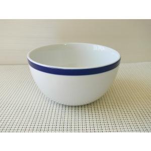 (訳あり)ウイリアムズソノマのブラッスリーブルー(Brasserie blue)14cmシリアルボール(おしゃれ サラダボウル)|puchiecho
