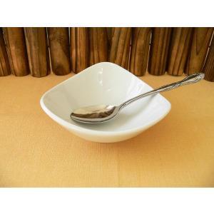 トライアングル11cmバニラアイスボール/業務用食器 カフェ食器 白い食器 小鉢 おしゃれ 北欧風\|puchiecho