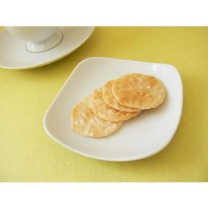スクエアーミール11cm醤油皿/白い食器 銘々皿 美濃焼 小皿 和食器 おしゃれ 陶器\ puchiecho
