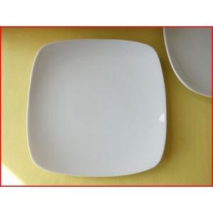 スクエアーミール18cmロールケーキプレート/業務用食器 カフェ食器 白い食器 ケーキ皿 おしゃれ\ puchiecho
