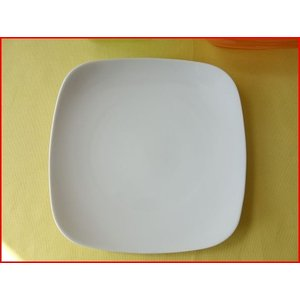 スクエアーミール22cmランチプレート/おしゃれ ワンプレート 大皿 食器 激安 白 北欧風\|puchiecho