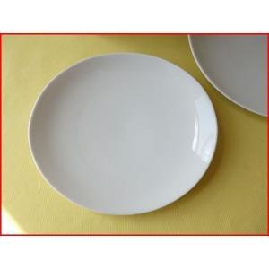 ソフトオーバル21cmロールケーキプレート/業務用食器 カフェ食器 白い食器 ケーキ皿 おしゃれ\ ...