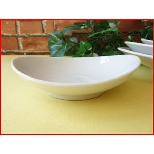 ソフトオーバル14cmごまだんご豆皿/白い食器 銘々皿 美濃焼 小皿 和食器 おしゃれ 陶器\|puchiecho