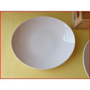 ソフトオーバル22cm小さなパスタ皿  カレー皿 カレーパスタ皿 食器 おしゃれ 美濃焼 日本製 業務用 北欧風|puchiecho
