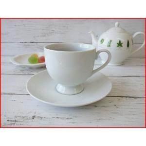 アメリカンコーヒーカップ&ソーサー/ティーカップソーサー 焼き物 おしゃれ 兼用 白い食器\|puchiecho