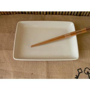 (訳あり)ファミレスの気分が味わえる21cm長角皿/和食器 焼き物皿 焼魚 さんま皿 長皿 和皿\|puchiecho