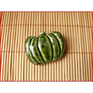 かぼちゃの箸置き/カトラリースタンド スプーンレスト フォーク置き スプーン置き かわいい おしゃれ はしおき インスタ映え|puchiecho
