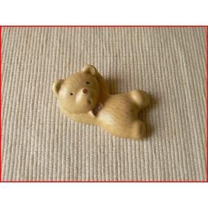 腕枕しているクマさんの箸置き/カトラリーレスト スプーンレスト はしおき 箸おき 激安 和食器\|puchiecho