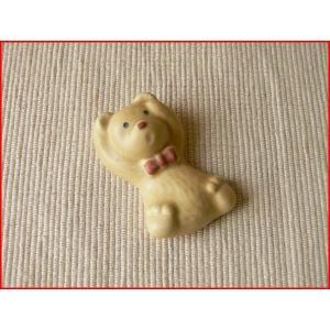 頭を抱えているクマさんの箸置き/カトラリーレスト スプーンレスト はしおき 箸おき 激安 和食器 ナチュラル雑貨\|puchiecho