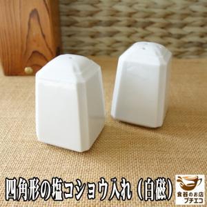 高級白磁材質のおしゃれな胡椒入れ(穴5つ)(調味料入れ 販売 通販 塩胡椒入れ スパイス入れ 容器) キャッシュレス5%還元 puchiecho