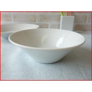 ルミネスト16cmシリアルボール/サラダボウル カフェ食器 白い食器 中鉢 おしゃれ 北欧風\|puchiecho