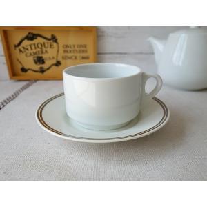 スタックコーヒーカップ&ホワイトマットソーサー/カップソーサーセット スタッキングカップ スタッキングコーヒーカップ 収納 北欧風|puchiecho