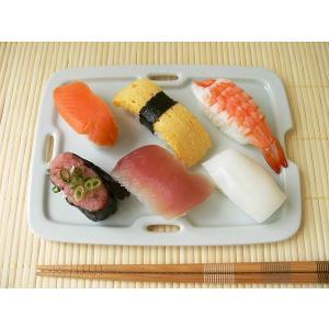 青磁色のオシャレな20cmお寿司トレー/和食器 焼き物皿 焼魚 さんま皿 長皿 和皿\|puchiecho
