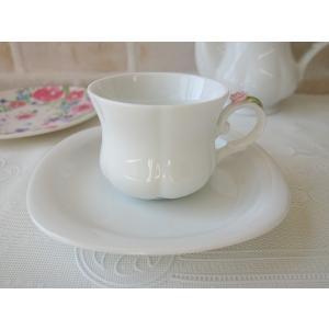 高級白磁材質ローズデココーヒーカップ&ソーサー(ピンクローズ)インスタ映え ロココ調 ティーカップ かわいい おしゃれ 日本製 バラ 薔薇 アウトレット込み|puchiecho