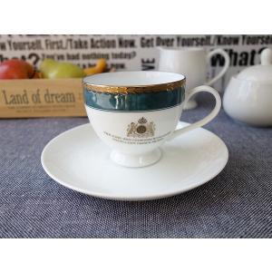 (訳あり)ライオンのエンブレム付きコーヒーカップ&ソーサー(ランパント)アウトレット 白 業務用 陶器 おしゃれ 美濃焼 ティーカップ 北欧風 日本製|puchiecho