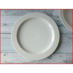 スリム27cmステーキ皿/おしゃれ ワンプレート 大皿 食器 激安 白 北欧風\|puchiecho