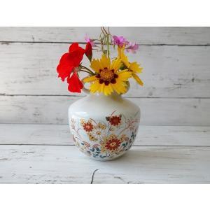 (訳あり)壁掛けもできちゃう秋桜(コスモス)の一輪挿し\アウトレット 花瓶 花器 陶器 花びん 通販 キュート 美濃焼 日本製 インスタ映え|puchiecho