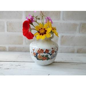 (訳あり)壁掛けもできちゃう梅の一輪挿し\アウトレット 花瓶 花器 陶器 花びん 通販 キュート 美濃焼 日本製 インスタ映え キャッシュレス5%還元|puchiecho