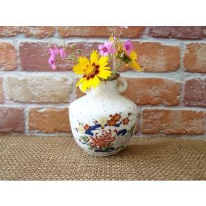 (訳あり)壁掛けもできちゃう菊の一輪挿し\アウトレット 花瓶 花器 陶器 花びん 通販 キュート 美濃焼 日本製 インスタ映え キャッシュレス5%還元|puchiecho