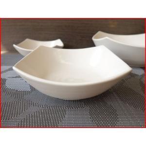 桜萩スクエアー15cm和風ミニサラダボール/和食器 取り鉢 中鉢 盛り鉢 陶器 ボウル\|puchiecho
