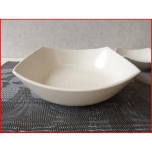 桜萩スクエアー19cm和風サラダボール/角皿/和食器 大鉢 盛り鉢 陶器 ボウル 大 美濃焼\|puchiecho