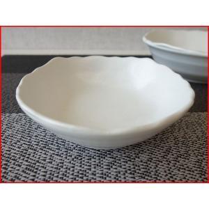 粉引風スクエア12cm付け出し小鉢/和食器 取り鉢 中鉢 盛り鉢 陶器 ボウル|puchiecho