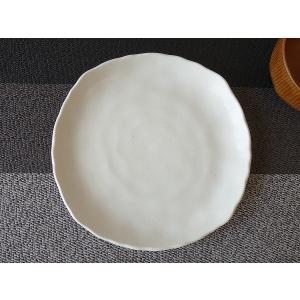 粉引風スクエア20cm和風ケーキ皿/和食器 おしゃれ 中皿 雑貨 美濃焼\|puchiecho