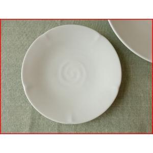 華花16cm取り皿プレート/菓子皿 銘々皿 美濃焼 小皿 和食器 おしゃれ 陶器\|puchiecho