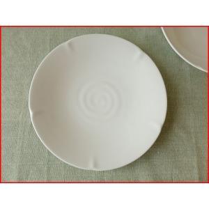 華花22cm和風ケーキプレート/和食器 おしゃれ 中皿 雑貨 美濃焼\|puchiecho