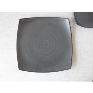 和鉄器スクエアー22cmランチプレート/角皿/和食器 おしゃれ ワンプレート 食器 激安 大皿\|puchiecho