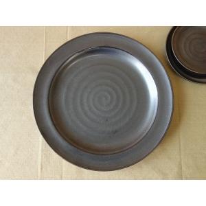 和鉄器29cm大きなランチ皿/和食器 おしゃれ ワンプレート 食器 激安 大皿 ランチプレート\|puchiecho