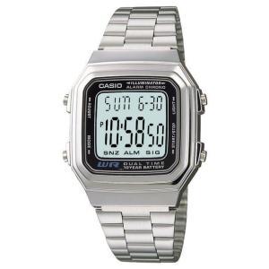 CASIO カシオメンズ腕時計 メンズデジタル 電池寿命約10年 全面発行LEDライト|puchikobe