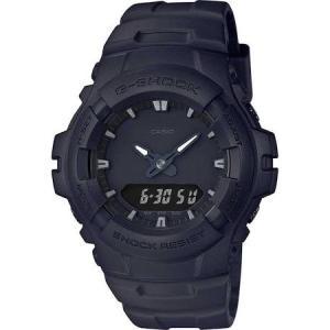 G−SHOCK CASIO ジーショック カシオ メンズ腕時計 デジタル G‐100BB‐1AJF  防水 黒文字盤 ブラックフェイス ラバーベルト|puchikobe
