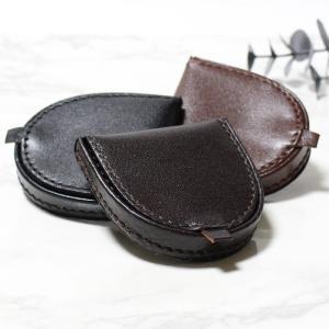 小銭入れ 馬蹄形 馬蹄型 コインケース レザーコインケース 財布 革製小銭入れ 馬蹄形コインケース 革製コインケース 父の日|puchikobe