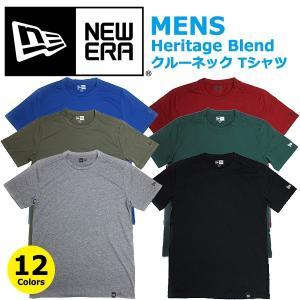 ニューエラ Tシャツ 無地 クルーネック NEW ERA メンズ