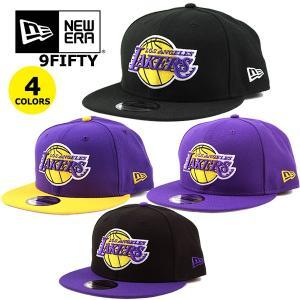 ニューエラ キャップ 9FIFTY レイカーズ LAKERS NEW ERA  NBA