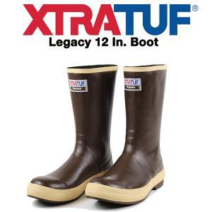 XTRATUF (エクストラタフ) レインブーツ Legacy ハーフ丈 12インチ カラー:Cop...