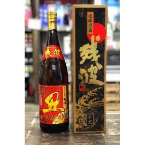 琉球泡盛 比嘉酒造『残波干支ボトル』2021限定【丑】43度1800ml|pukarasuya