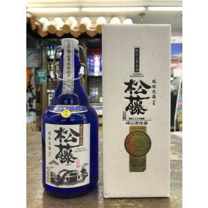 琉球泡盛 松藤三日麹 限定3年古酒43度 500ml|pukarasuya
