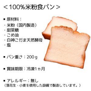 【送料無料】【メーカー直送/代引不可】【Vegan style Nana】100%米粉食パン <2斤> グルテンフリー ヴィーガン Vegan 動物性食材不使用|pulchrade-shop|02