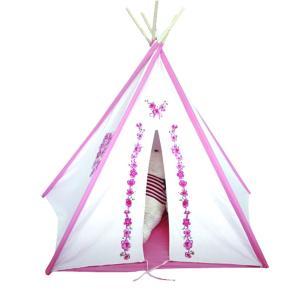 TP-2 窓アリ ティーピーテント子供用可愛いテント!キッズ室内用/おもちゃ/ままごと/秘密基地/知育玩具/木製|pulsejapan