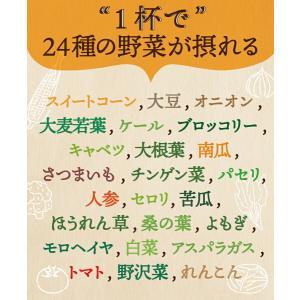 メール便 送料無料 24種の緑黄色野菜の贅沢とろ〜りコーンスープ24食入り ダイエット スープ|pululunn-hime|03