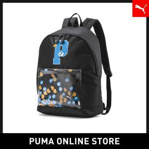 プーマ PUMA キッズ セサミストリート バックパック スポーツ (20L) キッズ sesami street バッグ バックパック リュック 2019年秋冬新作 19FH|puma