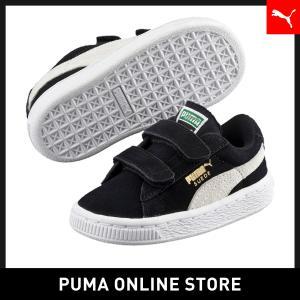プーマ PUMA スウェード 2ストラップ キッズ (12-16cm) キッズ スニーカー|puma