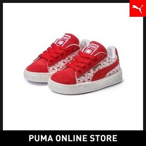 プーマ PUMA SUEDE CLASSIC X HELLO KITTY PS【キッズ ハローキティ...