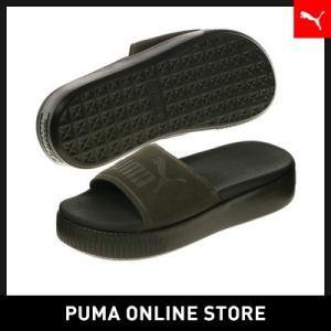 プーマ PUMA プラットフォーム スライド ボールド SD...